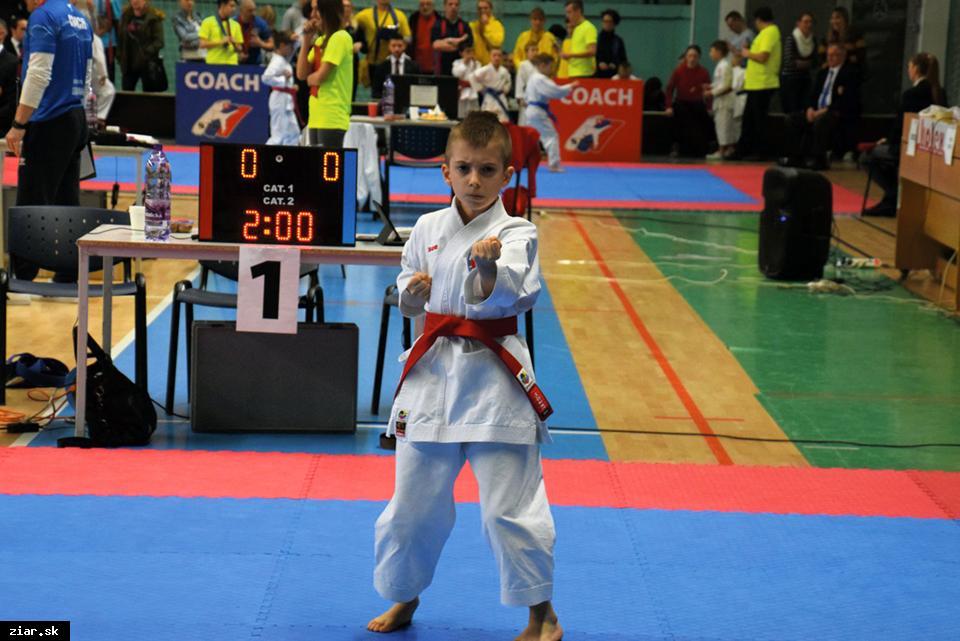 obr: Karate: Šipkovský so striebrom z austrálskeho Sydney