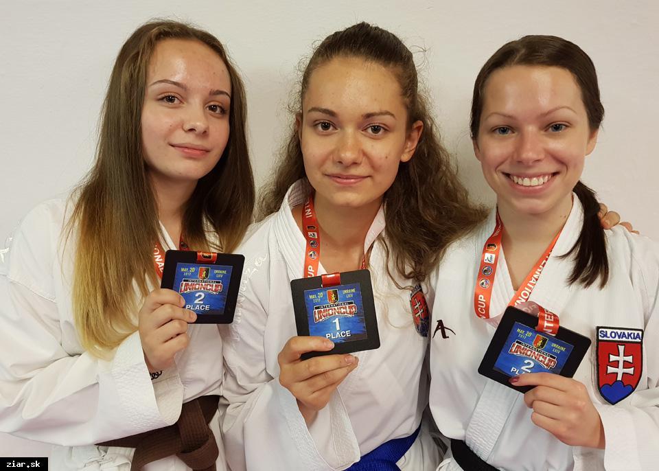 obr: Žiarske karate má za sebou úspešný mesiac