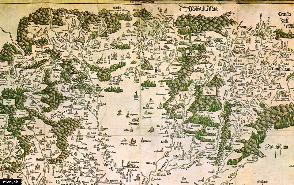 obr: Odkrývame históriu mesta: Kaštieľ na mapách
