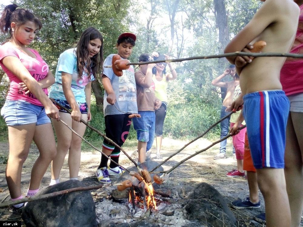 obr: Pre deti zo sociálne znevýhodnených rodín pripravili zážitkovo-náučný tábor