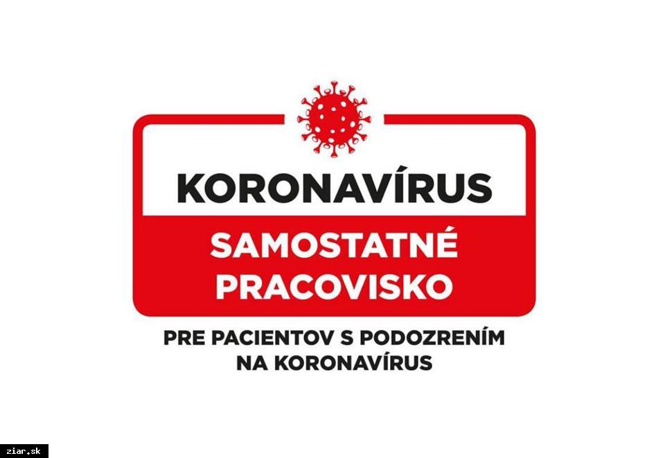 obr: Žiarska nemocnica zriadila vyhradený priestor pre pacientov s podozrením na Koronavírus