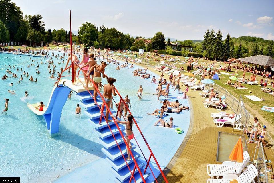 obr: Plážové kúpalisko otvorené od polovice júna