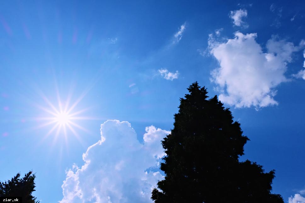 obr: Letné počasie bude pokračovať