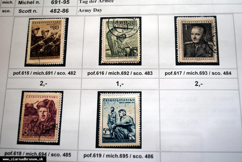 obr: Vlastnú zbierku známok odhaduje na niekoľko tisíc eur