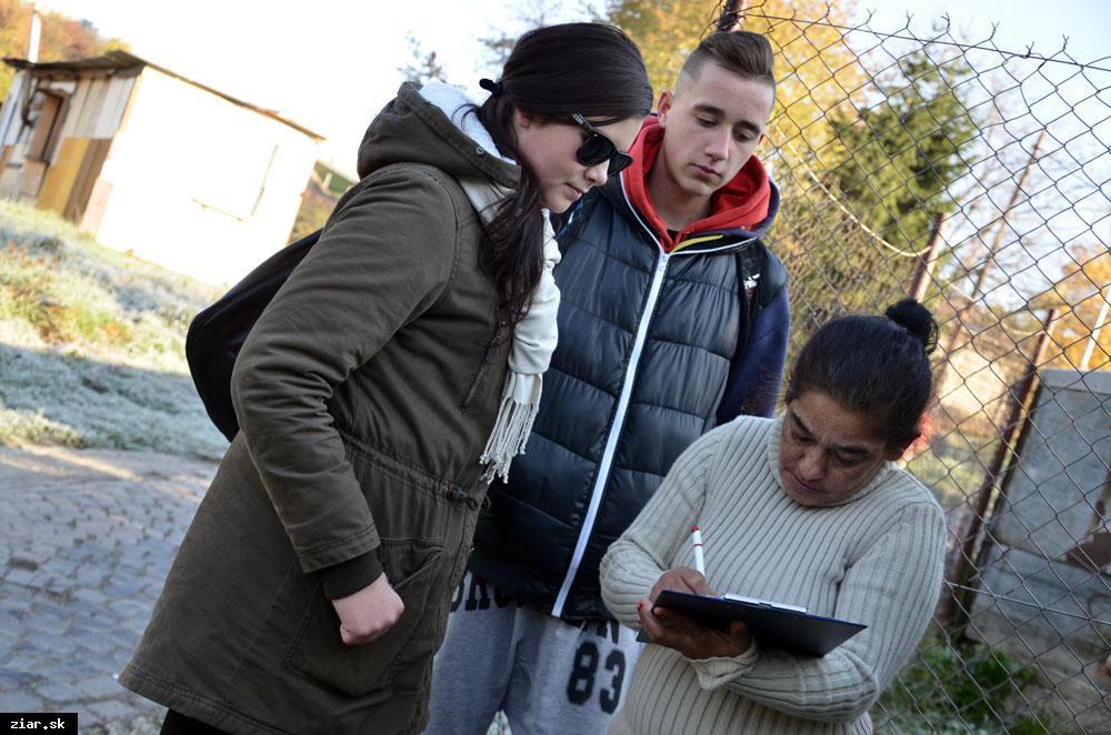 obr: Mesto spolupracuje s ďalšou strednou školou, študenti vykonávajú odbornú prax priamo v teréne