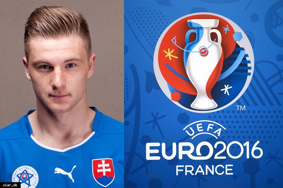 obr: Slovenská reprezentácia na EURO 2016 aj so žiarskym futbalovým talentom