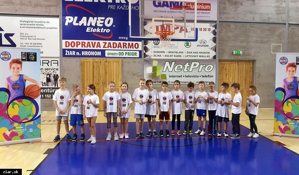 Minibasketshow po druhýkrát