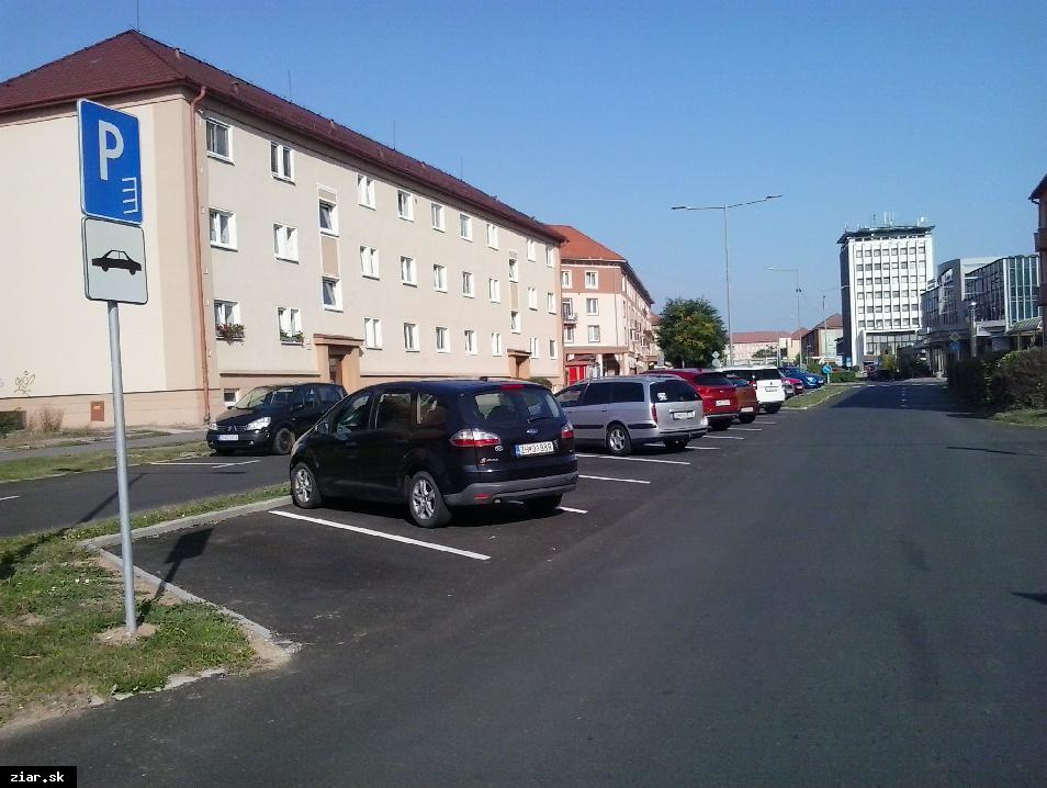 obr: Ulica Štefana Moysesa bude tohto roku komplet zrekonštruovaná
