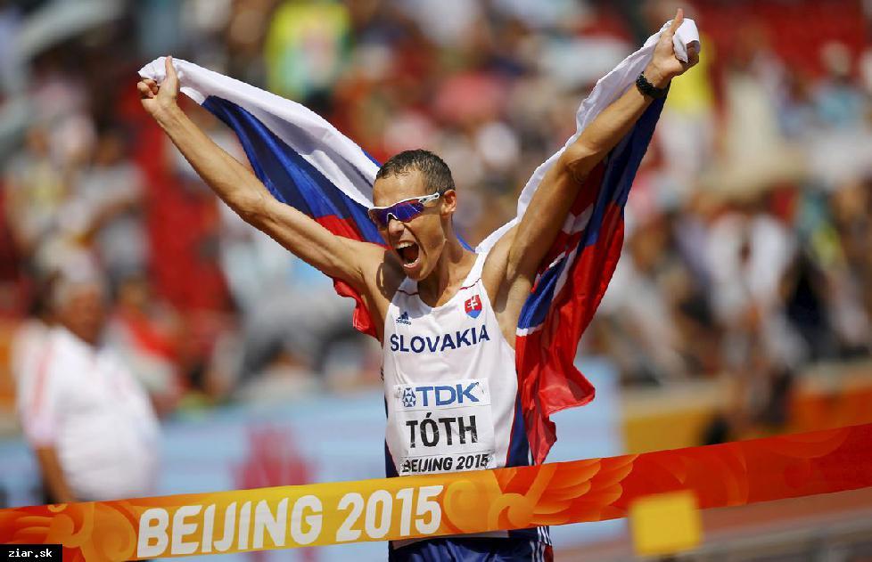 obr: Chodecké preteky v Žiari nad Hronom s olympijskými víťazmi