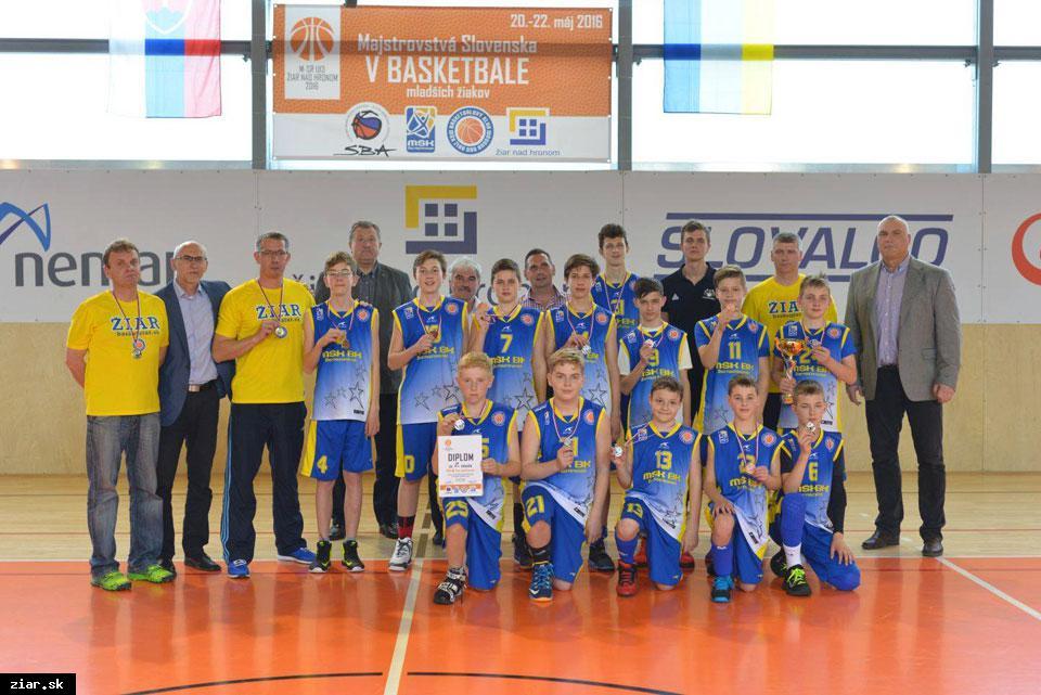 obr: Žiarčania na Majstrovstvách Slovenska opäť strieborní