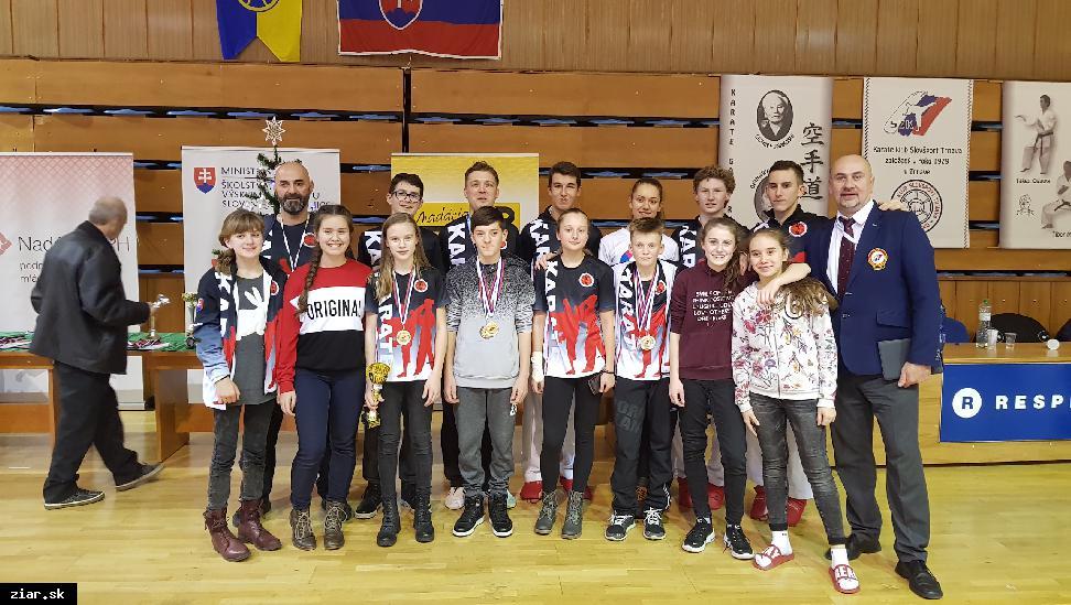 MŠK Žiar nad Hronom najúspešnejším klubom Majstrovstiev republiky