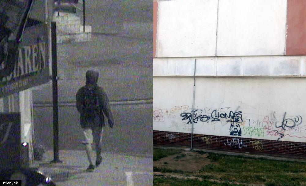 obr: Vďaka kamerám za jednu noc odhalili dvoch páchateľov