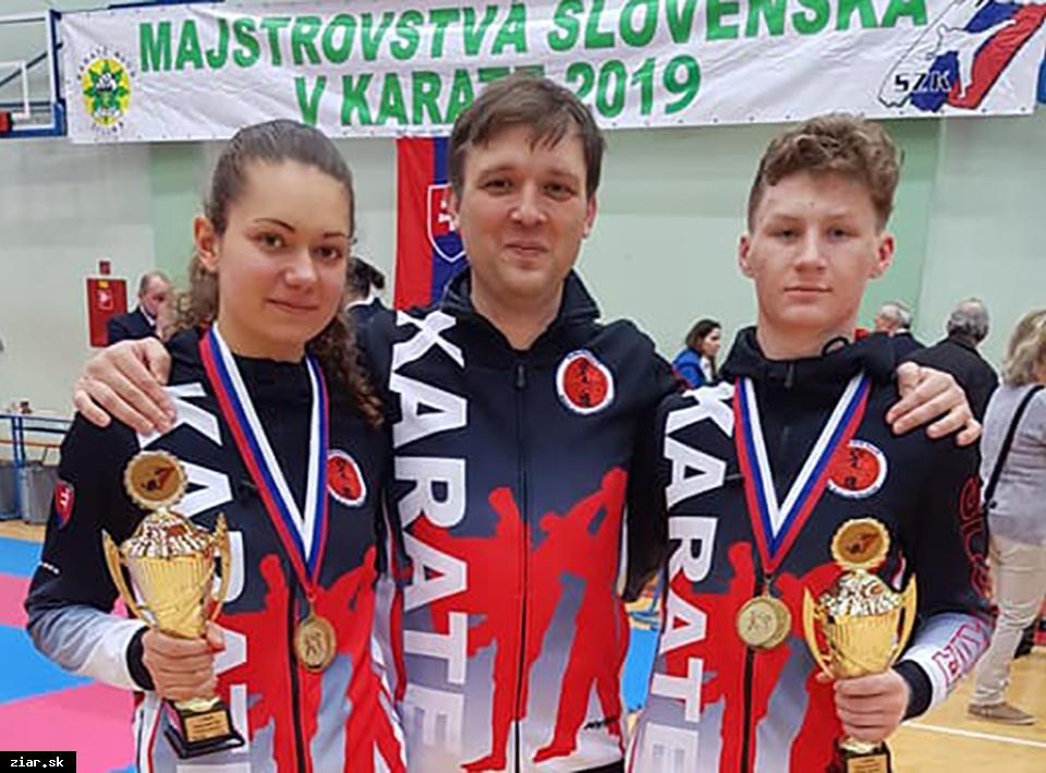 Karate: Žiar má dvoch nových Majstrov republiky