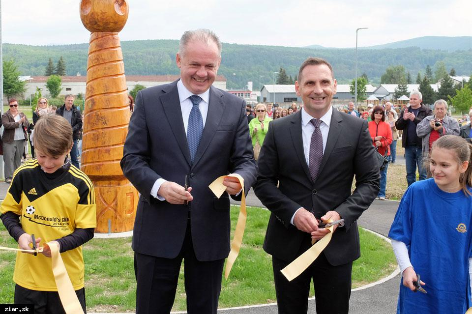 obr: Prezident SR Andrej Kiska navštívil naše mesto