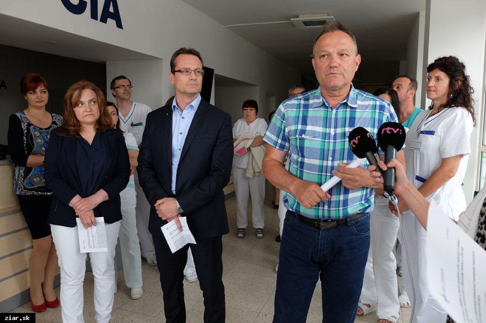 obr: Svet zdravia chce kúpiť nedostavaný pavilón pri žiarskej poliklinike