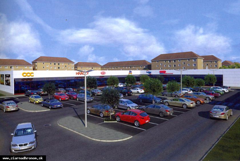 obr: V Žiari vyrastie nové obchodné centrum