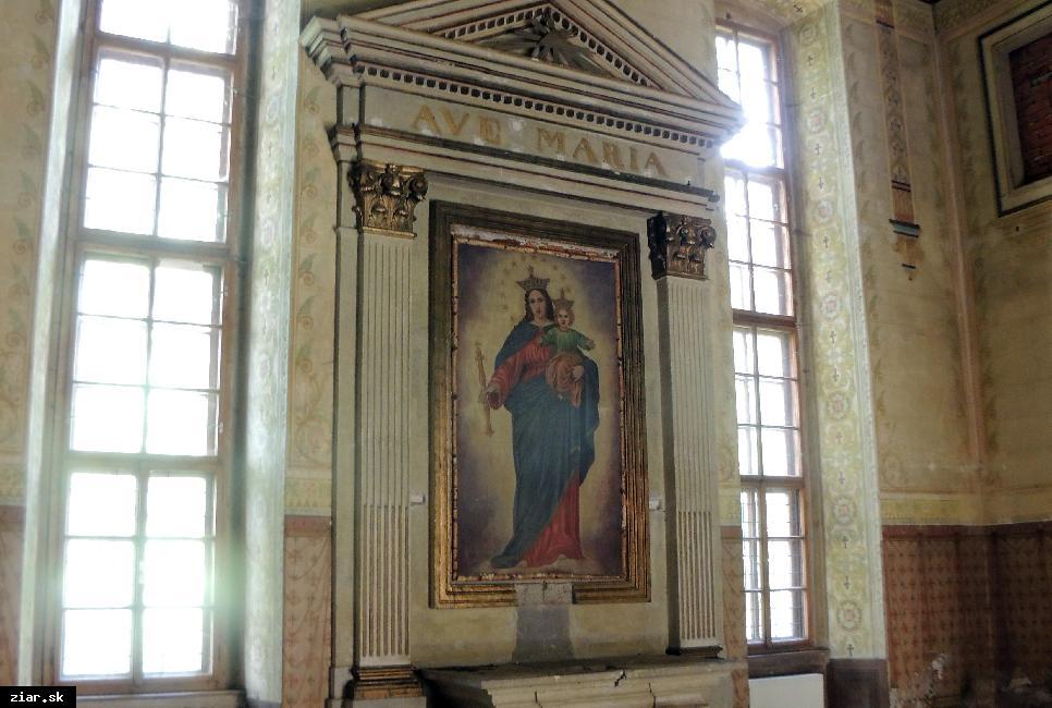 obr: Odkrývame históriu: Obraz v kaplnke