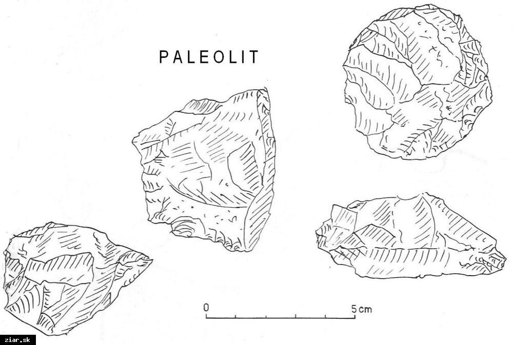 obr: Po stopách histórie a pamiatkach mesta: Počiatky osídlenia Žiarskej kotliny