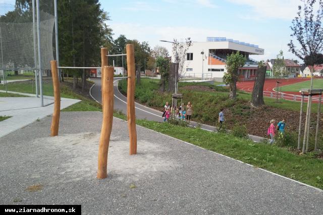 obr: Park bude centrom relaxu a zdravia