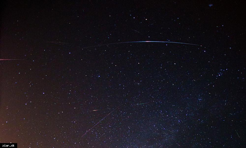 obr: Každoročný meteorický roj pozorovali aj v žiarskom planetáriu