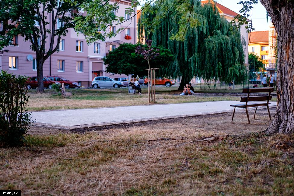 V centre mesta pribudlo petangové ihrisko