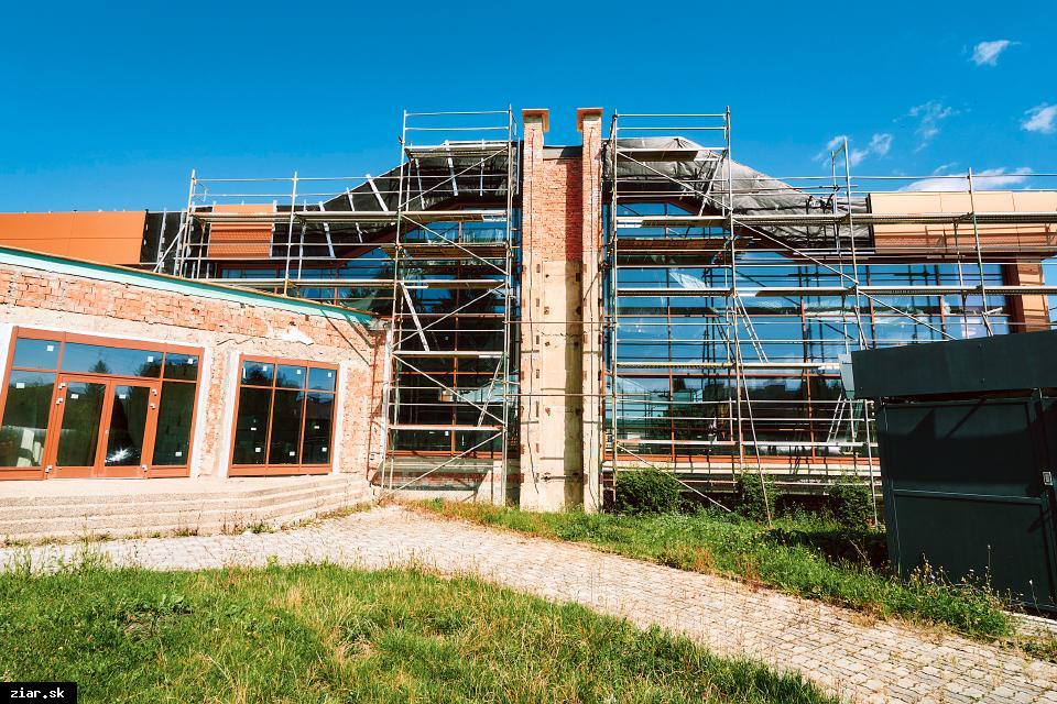 obr: Na rekonštrukciu plavárne sa už preinvestovalo viac ako 1,3 milióna eur