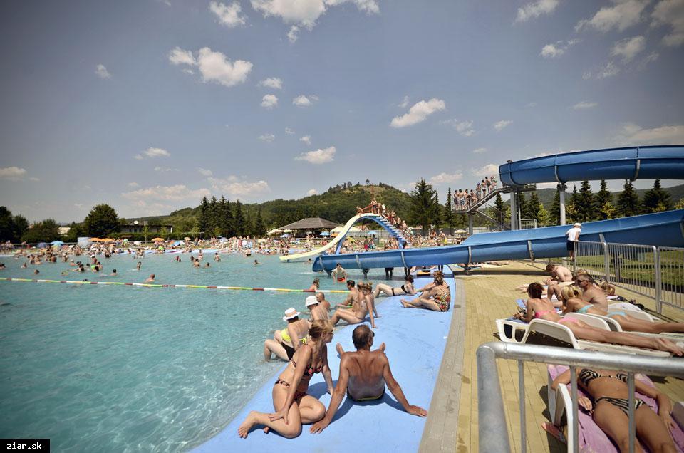 obr: Žiarske Plážové kúpalisko otvorené od 18. júna