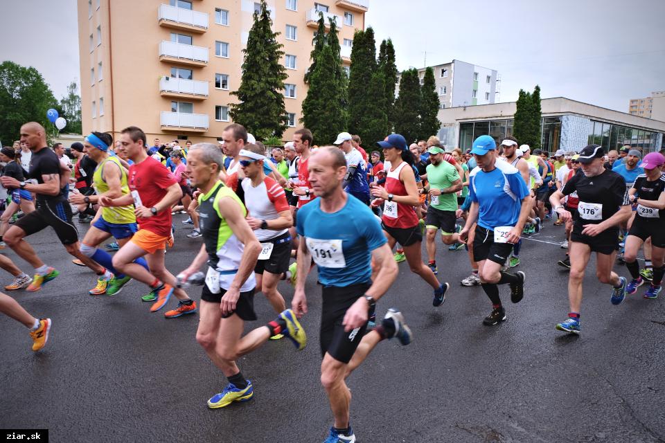 Uzávierky komunikácií počas Žiarskeho mestského polmaratónu