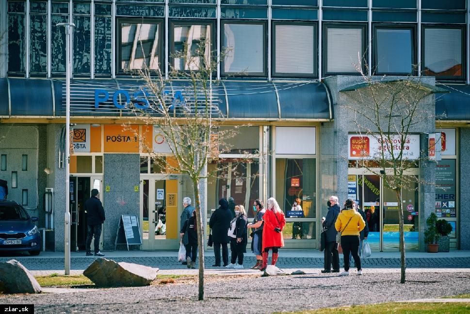 obr: Slovenská pošta žiada ľudí o zodpovedné dodržiavanie opatrení