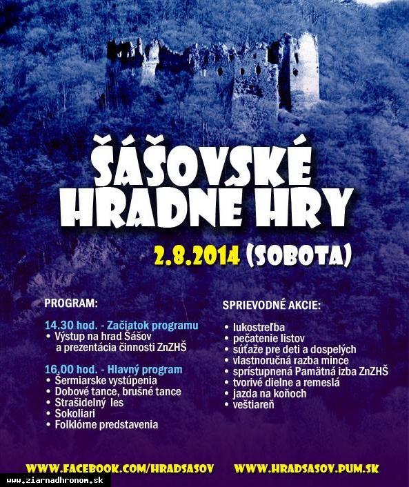 obr: Šášovské hradné hry už túto sobotu