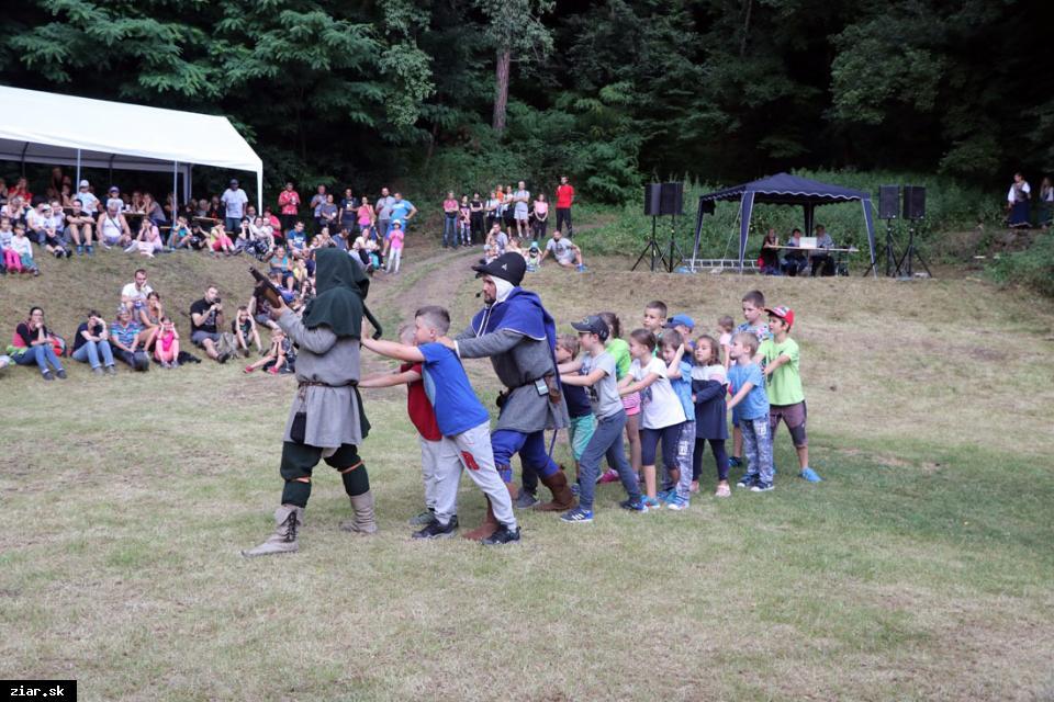 obr: Šášovské hradné hry otvoria už 17. ročník podujatia
