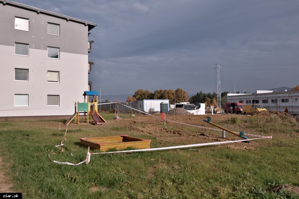 obr: Sídlisko Sever s novým detským ihriskom aj obchodom