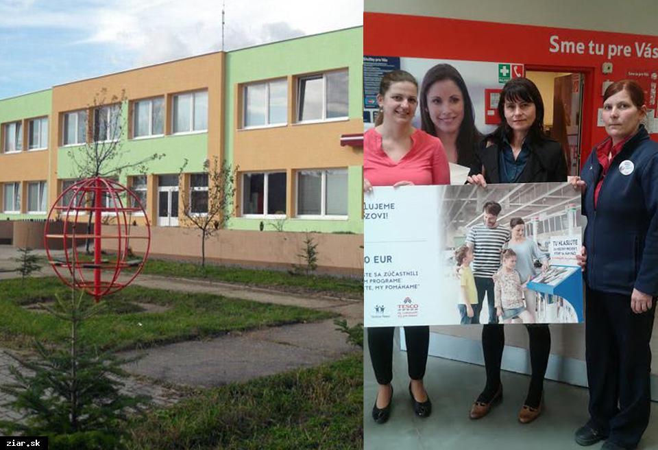 obr: Škôlka za 1 300 eur od Tesca opraví drevené domčeky