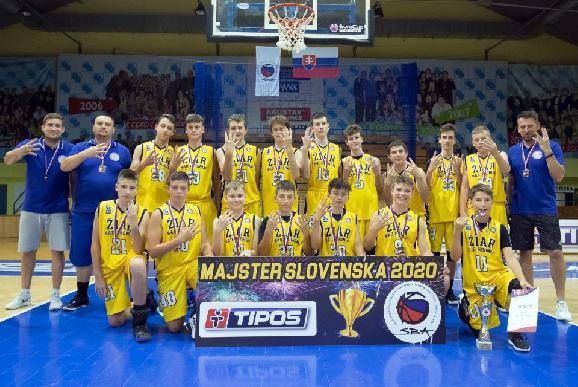Štvornásobní majstri Slovenska v basketbale sa zapíšu veľkými písmenami do histórie žiarskeho basketbalu