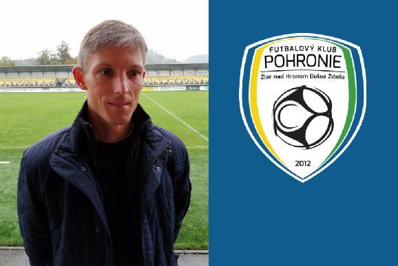 Novým trénerom FK Pohronie Jan Kameník