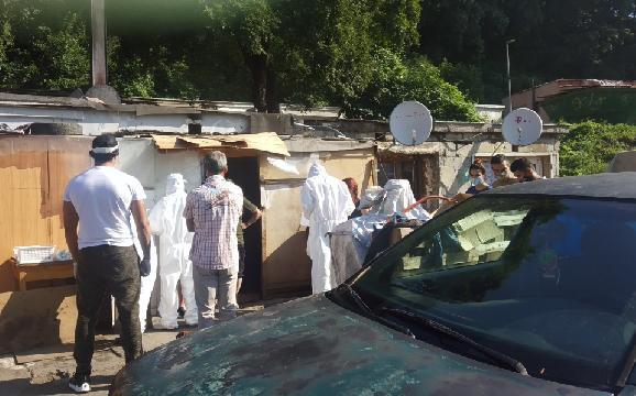 Dopoludnia testovali rizikových obyvateľov osady Pod Kortínou