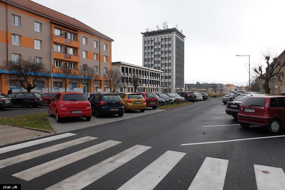 obr: Mobilná aplikácia vám nájde voľné parkovacie miesta v centre mesta