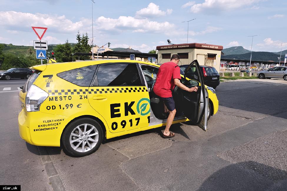obr: Cenník sociálneho taxíka platný od 1. septembra
