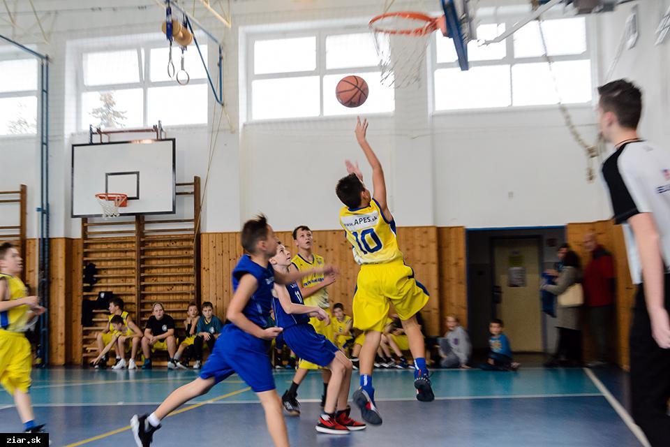obr: Basketbal: Starší mini s dvoma víťazstvami proti Zvolenu