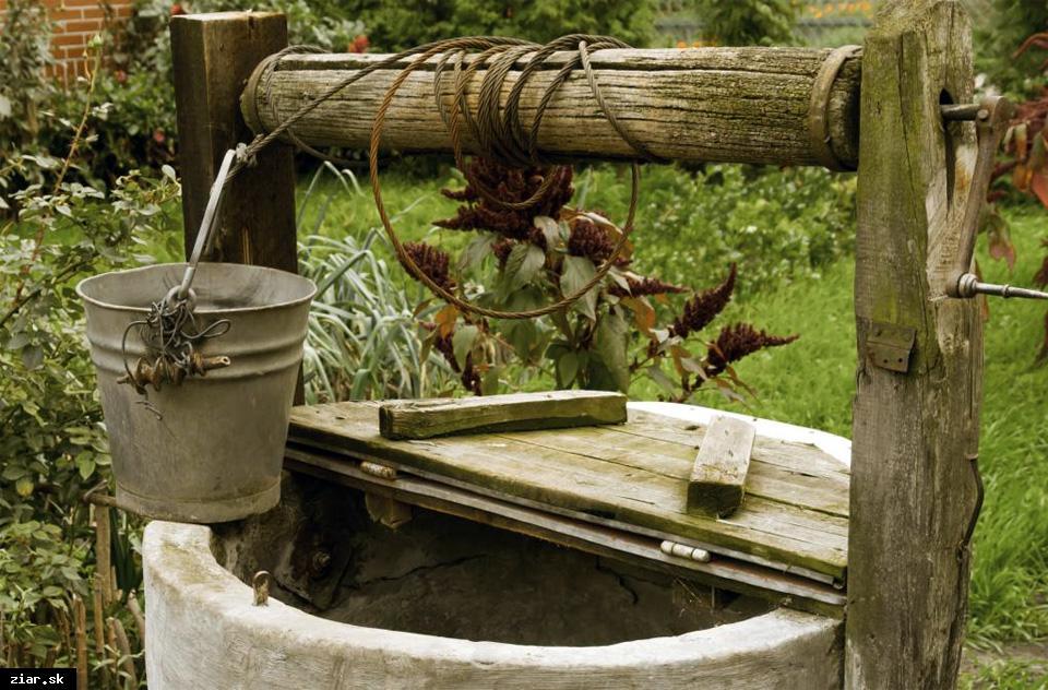 obr: Blíži sa Svetový deň vody. Vzorku z vašej studne vám skontrolujú bezplatne