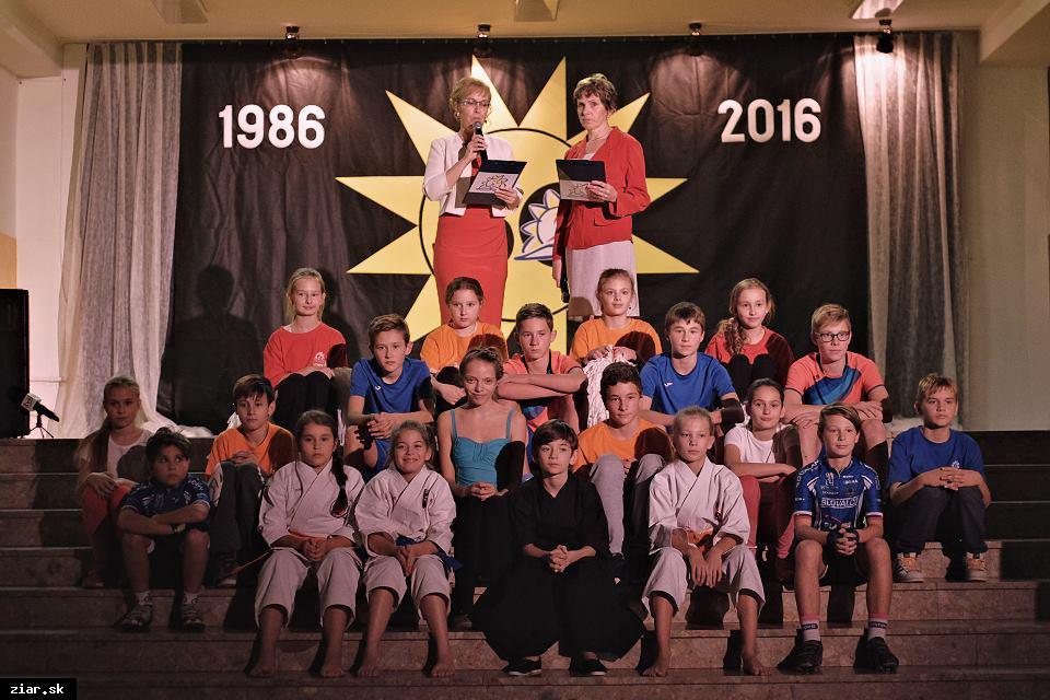 obr: 30. výročie vzniku žiarskej Štvorky
