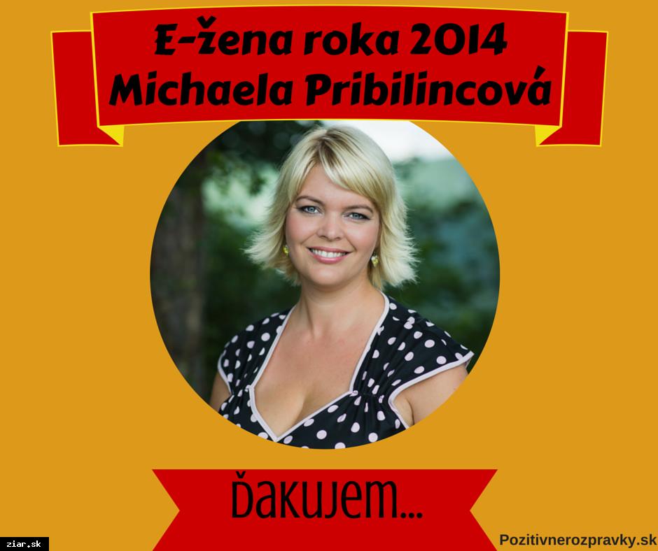 obr: Michaela Pribilincová získala ocenenie E-žena roka