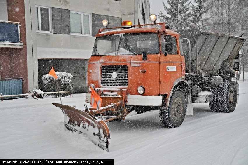 obr: Technické služby sú na zimnú sezónu pripravené