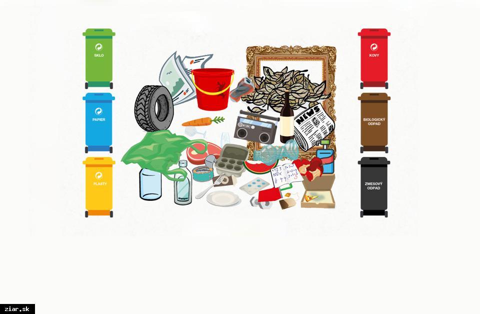 obr: Triediť odpad s digitálnym pracovným zošitom je zábava