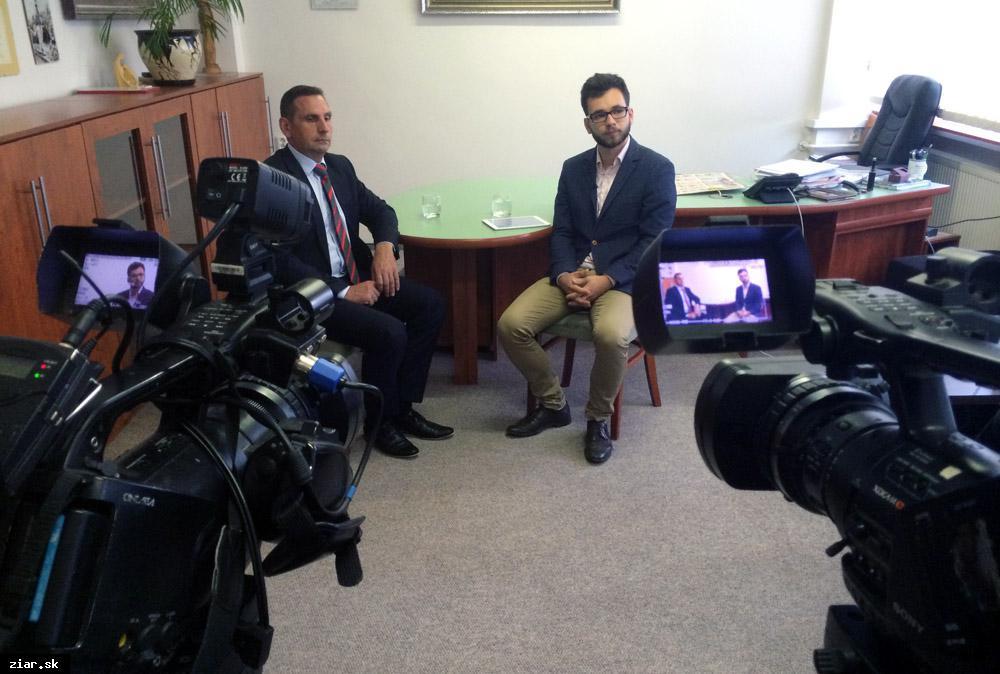obr: Do Žiaru prichádza regionálna televízia Hronka