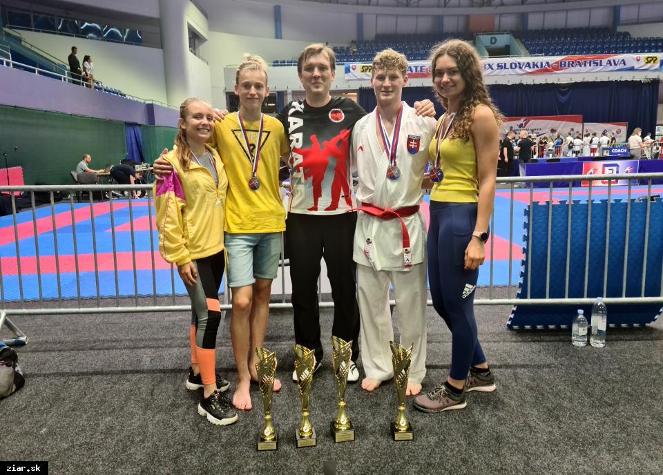 obr: Veľká cena Slovenska v karate pre žiarskych karatistov úspešná