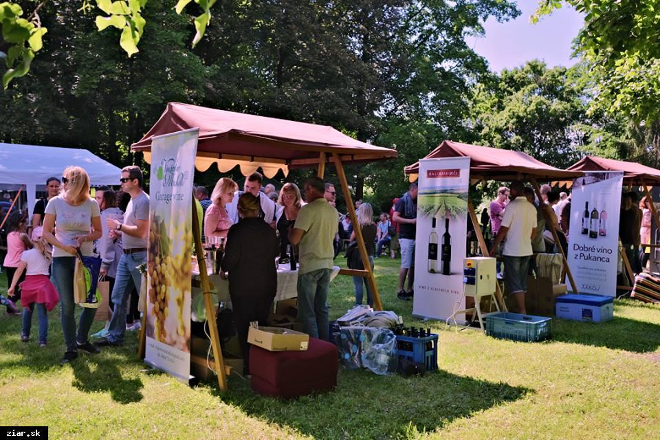 Festival vína v parku už túto sobotu!