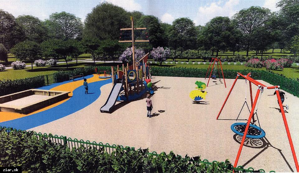 obr: Nové detské ihrisko až v budúcom roku