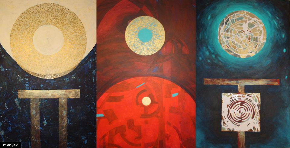 obr: Výstava mladých výtvarných umelcov z partnerského mesta Svitavy