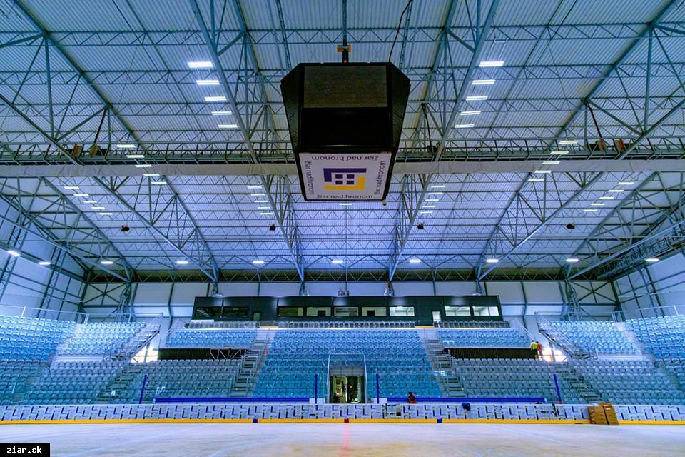 obr: Slávnostné otvorenie zimného štadióna bude v piatok 23. augusta o 17.00